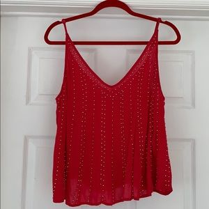 Free People Beaded Tank Top / Cami